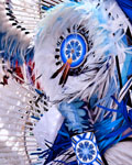 Feathers In Blue