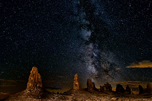 Best of Show - Nightscape Trona Pinnacles